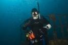 Diver on the Spar
